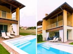 Villa bifamiliare - Piscina