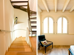 Villa bifamiliare - interni