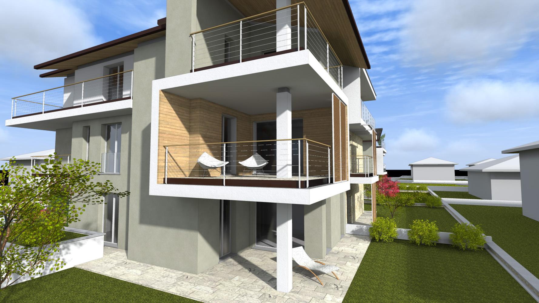 T2 trilocale con giardino for Software di piano terra residenziale